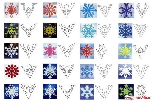 Как сделать легкую и красивую снежинку из бумаги