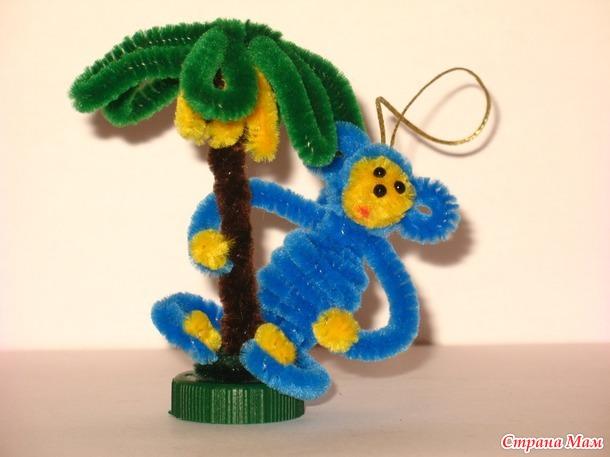 Поделки из синельной проволоки животные 47