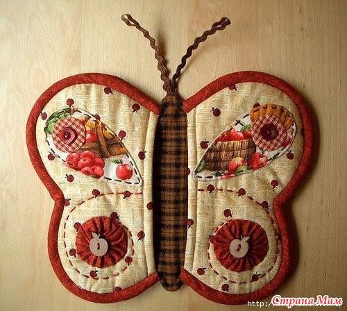 Оригинальные прихватки из ткани