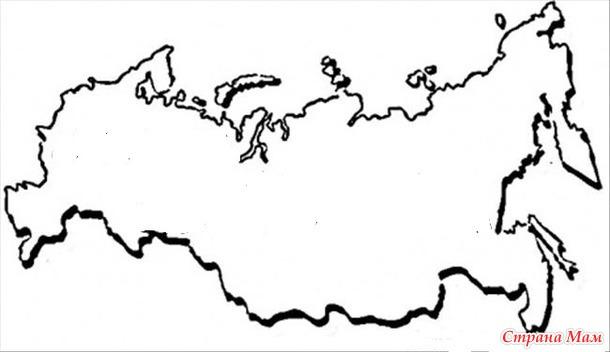 Раскраски территории россии