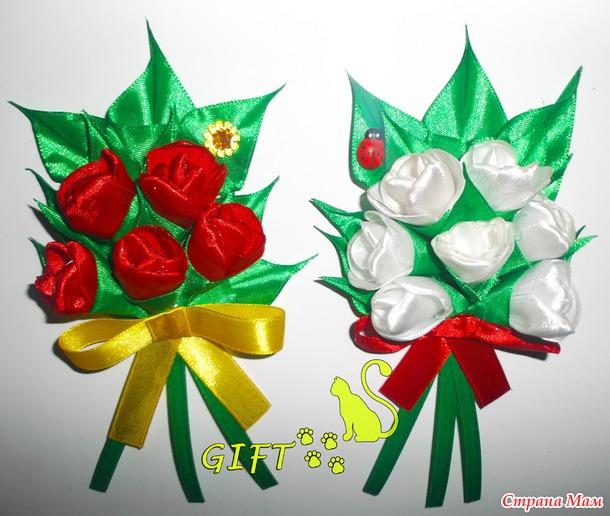 Канзаши подарки