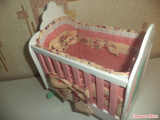 Кукла в детскую кроватку своими руками