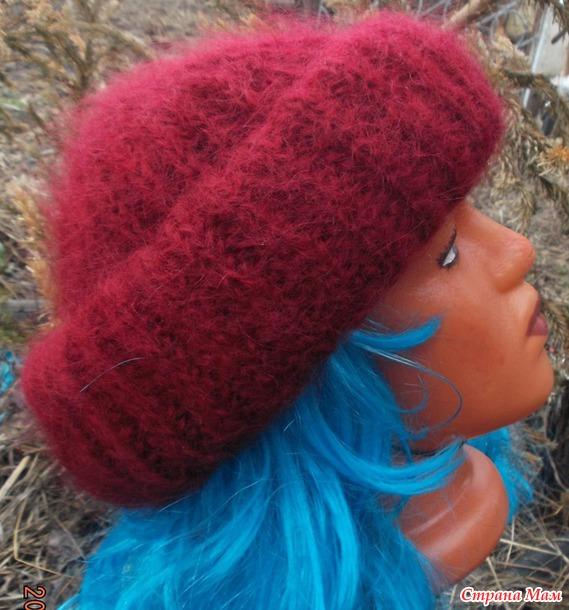 Мой первый МК (шапочка в стиле Так. Ори) Дополнила схему убавления.