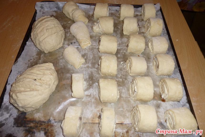 Слоенки с сыром рецепт с фото