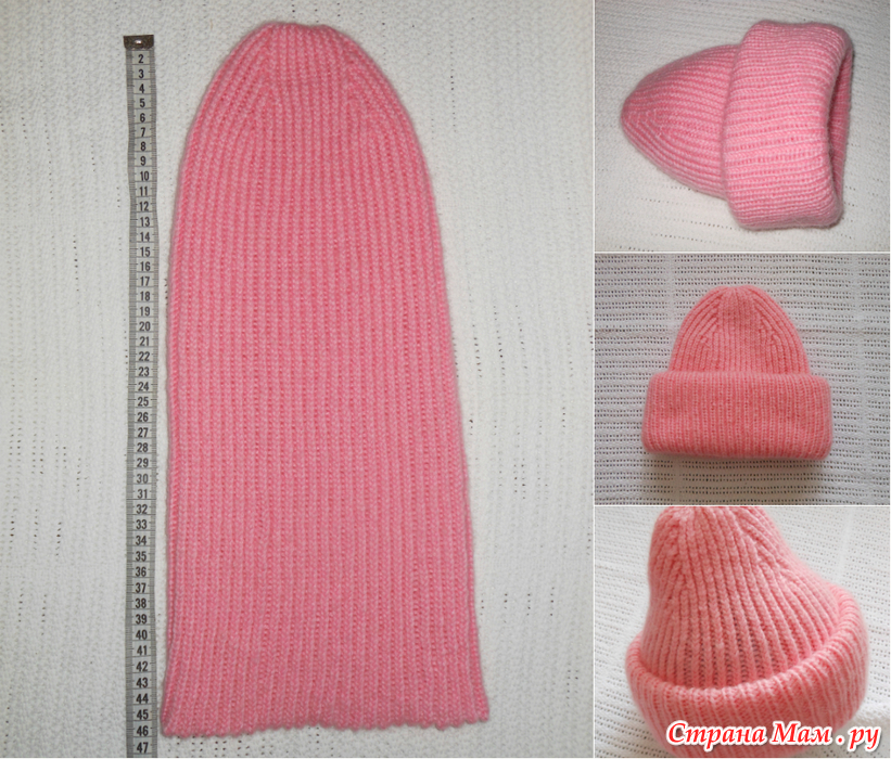 Вяжем шапку токари