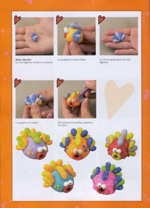 Лепить своими руками из пластилина