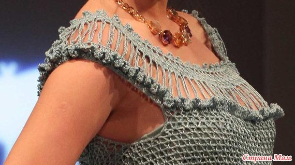 Платье Мануэла от Alzira Vieira он-лайн с пошаговыми фото выполнения