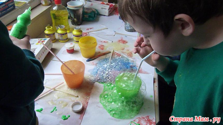 Проект мыльные пузыри в средней группе