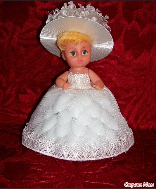 Поделка красивая кукла