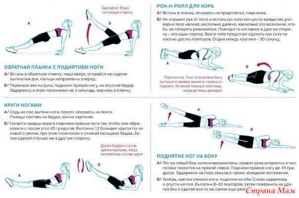 Упражнения для талии в домашних условиях видео для женщин