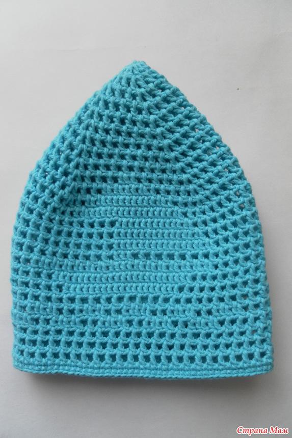 Сине-голубая шапочка(схема