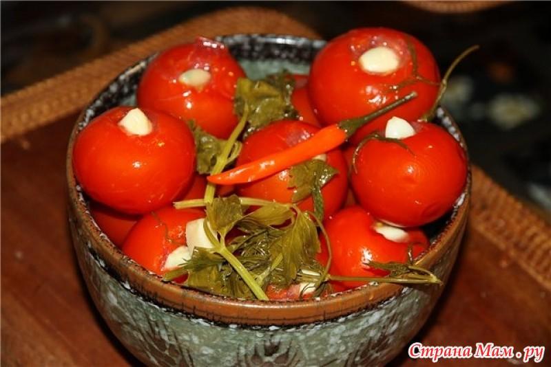 Рецепт солений из помидор фото