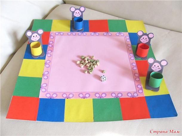 Настольные игры своими руками для детей 5 6 лет