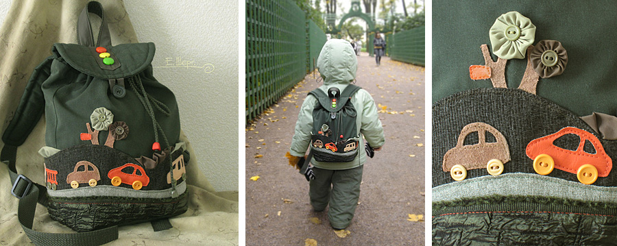Рюкзаки своими руками для мальчика