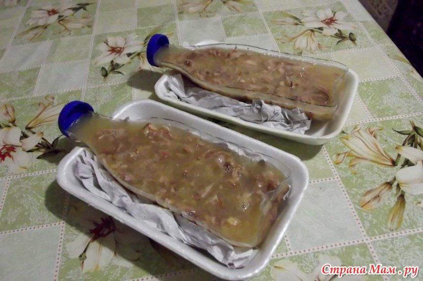 Заливное из колбасы с желатином рецепт пошагово 170