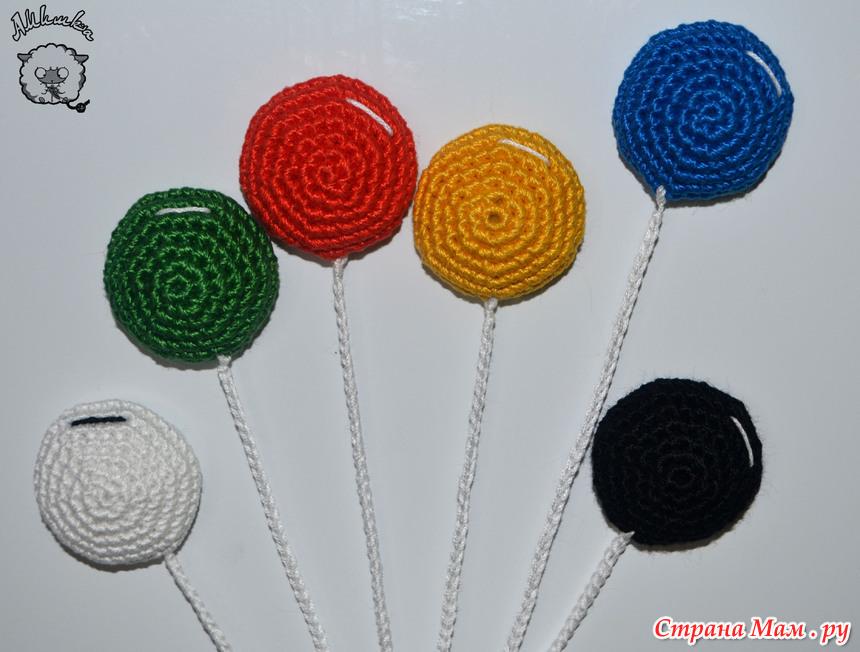 Поделки из цепочек из воздушных петель