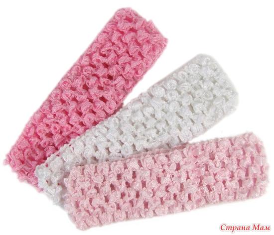 Вязание резинки для головы