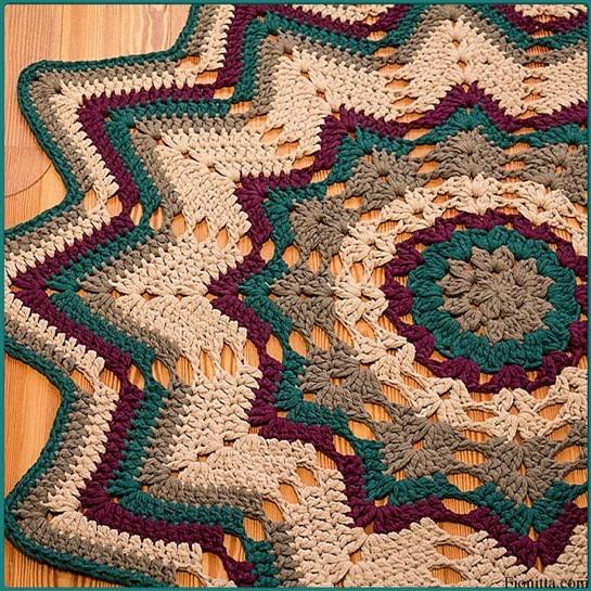 Некоторые схемы ковриков: