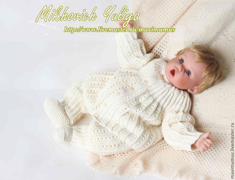 Мастер классы вязание для новорожденных