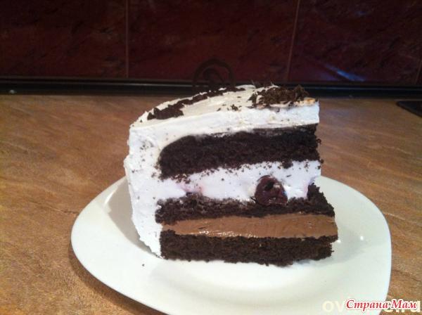 Рецепт торта белая ночь с фото
