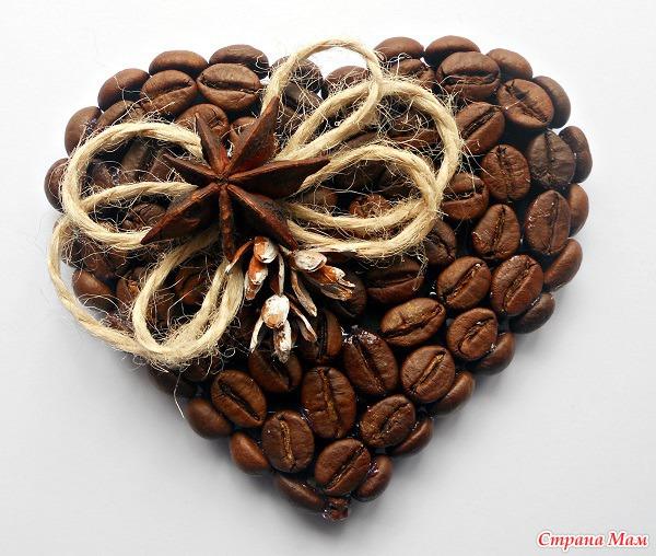 Магниты своими руками из кофе