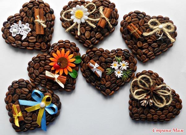 Кофейные магниты своими руками фото