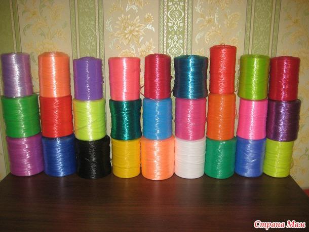 Мастер-класс по вязанию мочалки!