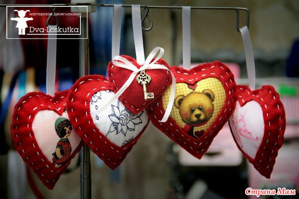 Сувениры на день валентина мастер класс