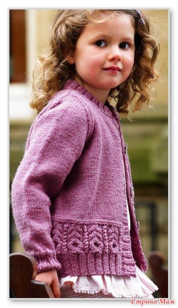 Вязание спицами для детей.