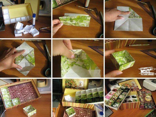 Как сделать шкатулки своими руками из коробки и ткани