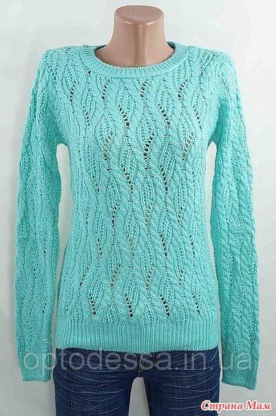 Вязание спицами красивые свитера женские