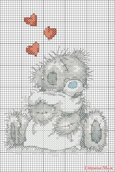 Котики вышивки крестиком