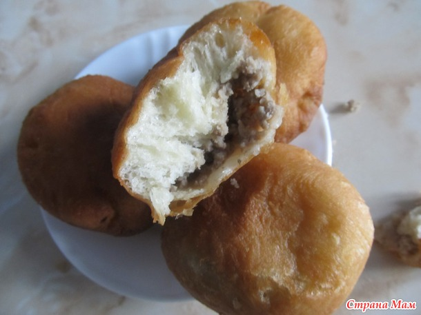 Пирожки жареные, воздушные!)))