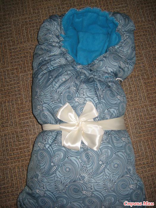 Как сшить конверт на выписку для новорожденного своими руками 7
