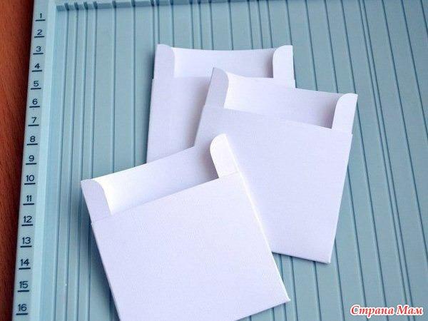 Кармашки своими руками из бумаги