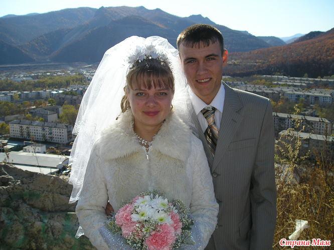 Худой и толстая свадьба