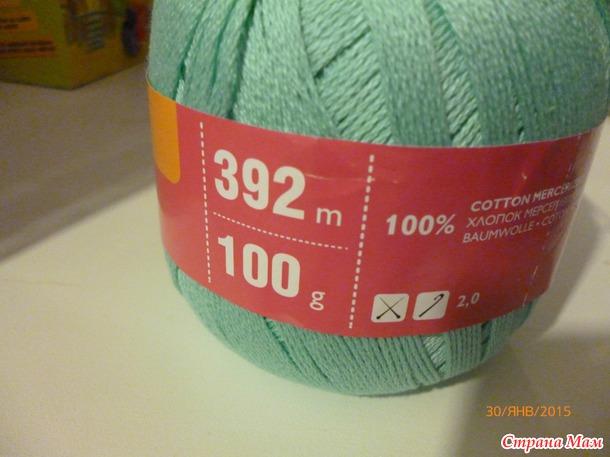 Какие нитки используют для филейного вязания