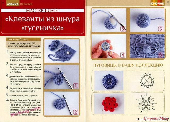 Как сделать дырочки для пуговиц при вязании