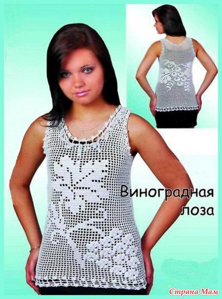 Вязаные платья кофты