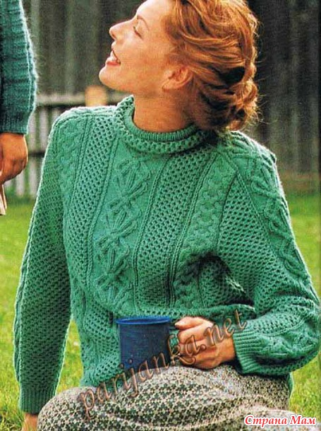 Parijanka net вязание спицами