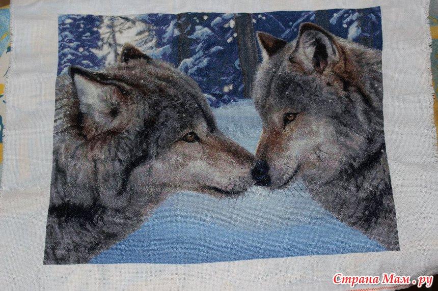 Вышивка поцелуй волка примета 65
