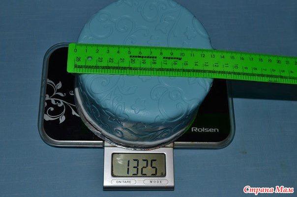 Торт 4 кг размер