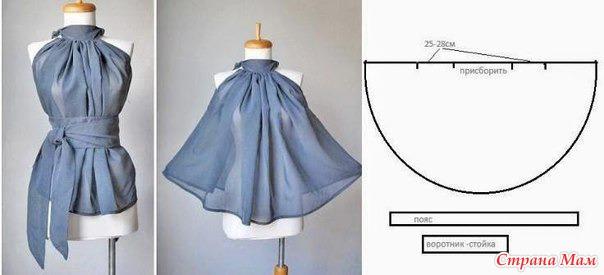Каталог блузок