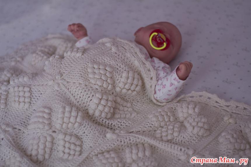 Плед для новорожденного нежнее нежного