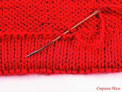 Выполнение швов в вязании. Уроки, пояснения.