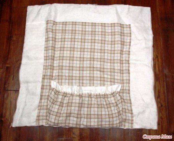 Сшить одеяло-трансформер для новорожденных