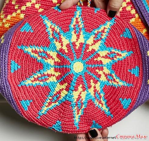 奇妙风格的编织袋专辑(二、包袋底部的鉴赏 ) - maomao - 我随心动