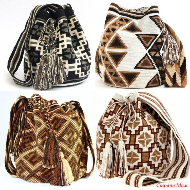 Схемы для сумки мочилы