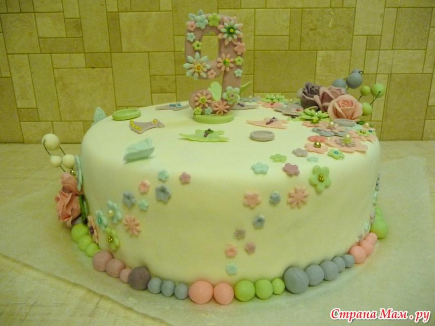 Картинки тортов для девочки 9 лет