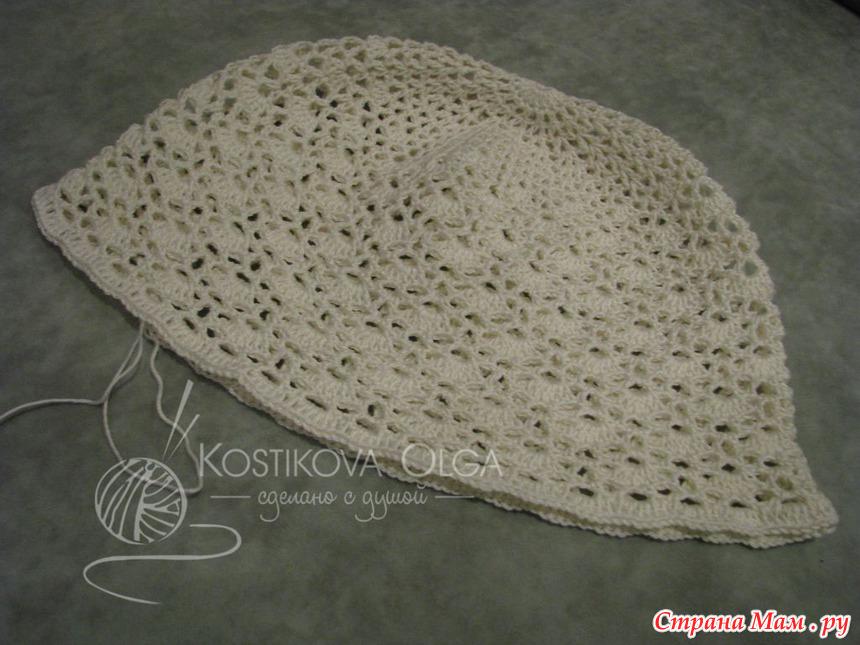 钩针教程:蝴蝶结的豪华帽子 - maomao - 我随心动